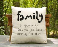 Family Pillow.