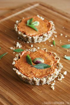 raw tomato mini snack tarts