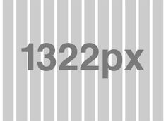 Now that 1366 is quickly becoming the most popular screen width, a 1322px grid with 22px gutters is ideal because you can divide the space into 24, 20, 12, 10, 8, 6, 4 and 3 columns.