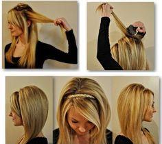 DIY- Easy Everyday Hairstyle