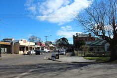 Main street in Trent