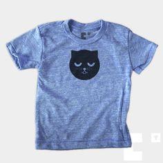 Sleepy Watson - #Baby + Toddler #Cat #Tee $22 fr The Medium Control - #prints available too! #nursery