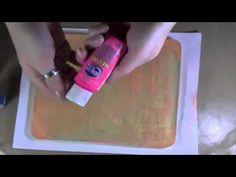 Making A Homemade Permanent Gelli Plate gelli print, gelli plate