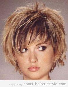 Short Choppy Hairstyles with Bangs | Short Choppy Layered Bob Haircuts | Short Haircuts Styles | New Best ...