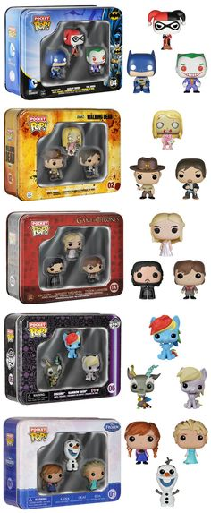 Funko Announces New Pocket Pop! Collectible Tins Read more at http://nerdapproved.com/toys/funko-announces-new-pocket-pop-collectible-tins/#uRksGJw6fxSDieLC.99
