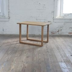 White Oak Small Side Table