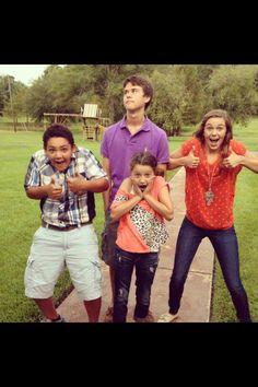Willie's kids; Lil' Will, John Luke, Sadie, and Bella from Duck