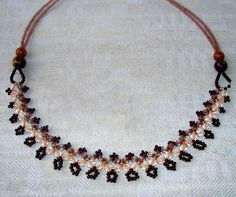 Free pattern for necklace Ava