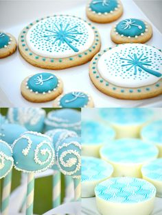 Dandelion Party Food Cookies