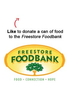 We are donating a can to a food to the Freestore Foodbank in Cincinnati for each Like on this pin!  Like EatAtTGIFridays on Facebook and we'll donate another! https://www.facebook.com/EatAtTGIFridays