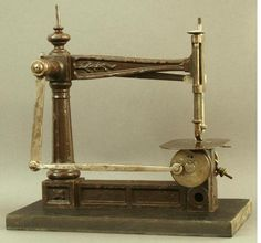 The Encyclopedia of Early American Sewing Machines. Prototype, A. B. Wilson sewing machine, Ca. 1852