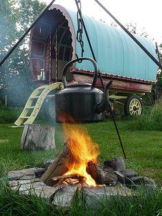 Gypsy caravan retreat