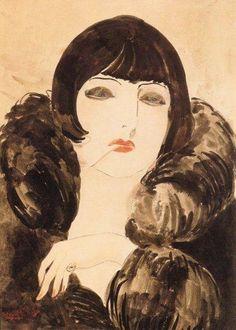 Kees van Dongen, Kiki, c.1923