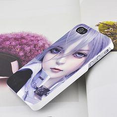 Apple iPhone 4 / 4S Hard Sided Beauty Girls Skin Case