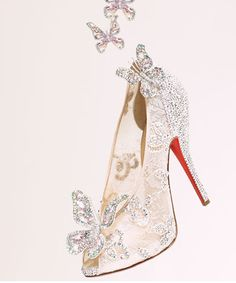 Christian Louboutin Introduces Cinderella Glass Slipper | My Thirty Spot