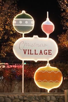 ogden's christmas village [activity] - So Festive!