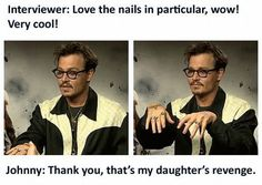 Johnny is an AMAZING dad!!