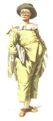 Maschera tradizionale di Carnevale: Tartaglia