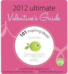 limefish studio:  101 Gift Ideas for Valentines Day