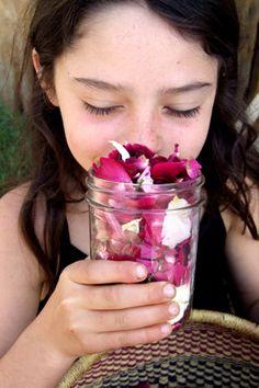 Rose Vinegar || A Favorite Sun Burn Remedy || by Kiva Rose