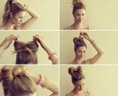 Moño, encuentra más estilos de peinados para cada día aquí, http://www.1001consejos.com/peinados-para-cada-dia/