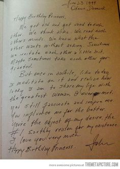 Johnny Cash's birthday letter to June…
