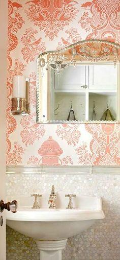 Bathroom ♥ xoxo, Manhattan Girl