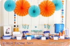 Mr. C's Goldfish Birthday Party