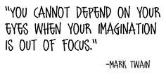 mollyinkenya:  mark twain's words of wisdom.