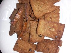 Wifezilla's Way: Almond Butter Crackers