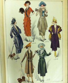 1920 Butterick pattern catalog page. #butterick #vintagepatterns