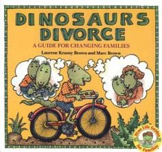 Text and illustrations of dinosaur characters introduce aspects of divorce such as its causes and effects, living with a single parent, spending holidays in two separate households, and adjusting to a stepparent. parents, parent divorc, books online, dinosaurs, dinosaur divorc, famili therapi, families, books for kids, school counsel