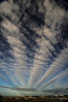 Clouds (Cirostratus Radiatus)