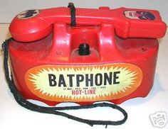 The Batphone. WHAT?!?!?!