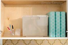 Simple Dimples: Organization Binders