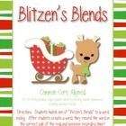 FREE!  Blend Acitivty Your students will practice the blends in this fun and engaging activity!  Match Blitzen's blends with ending chunks to create words.  Record the w...