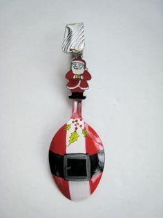 Santa Belt Spoon Ornament