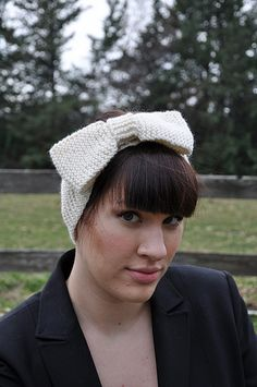 Knitted Bow
