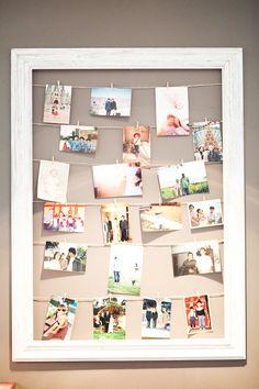 Photos in a frame