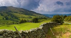 england, fenc, british countryside, beatrix potter, stone, travel, place, english countryside, lake district