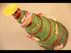 Pinito de hilo // Manualidad de Navidad