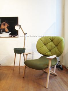 Green chair #modern #chair