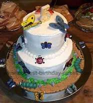 Image Detail for - Garden Birthday Cake Picture