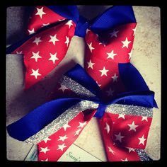 4th of July Hair Bow by SusysAccessories on Etsy, $4.00