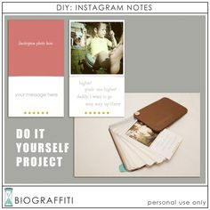 idea, business card holders, instagram, business cards, photo books, busi card, mini albums, mini books, diy projects