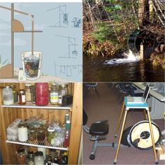 8 DIY Energy Projects ~ totally love the bicycle-powered generator (link to DIY plans!)