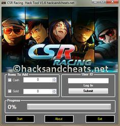 Csr racing hack tool v1.6