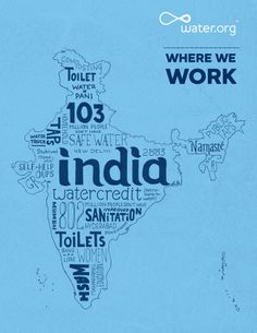 India | 802 million people do not have improved sanitation facilities. | #WhereWeWork | Water.org