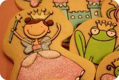 princess & tea party cookies