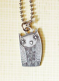 #owl #necklace from http://boygirlparty.etsy.com #backtoschool